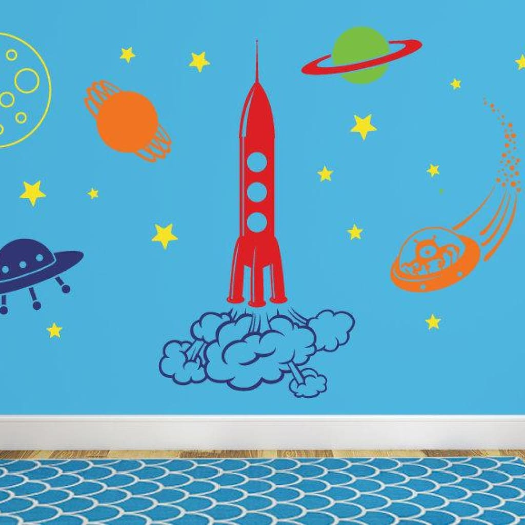 Outer Space Wall Decal Db356
