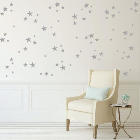 Peel And Stick Star Decals Db395