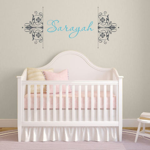 Personalized Name Wall Decal 130
