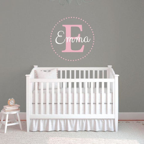 Personalized Name Wall Decal Db305