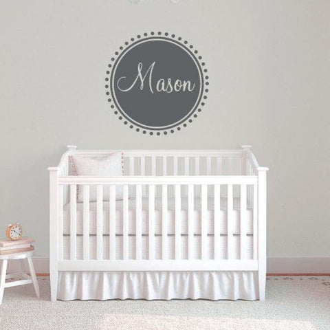 Personalized Name Wall Decal Db363