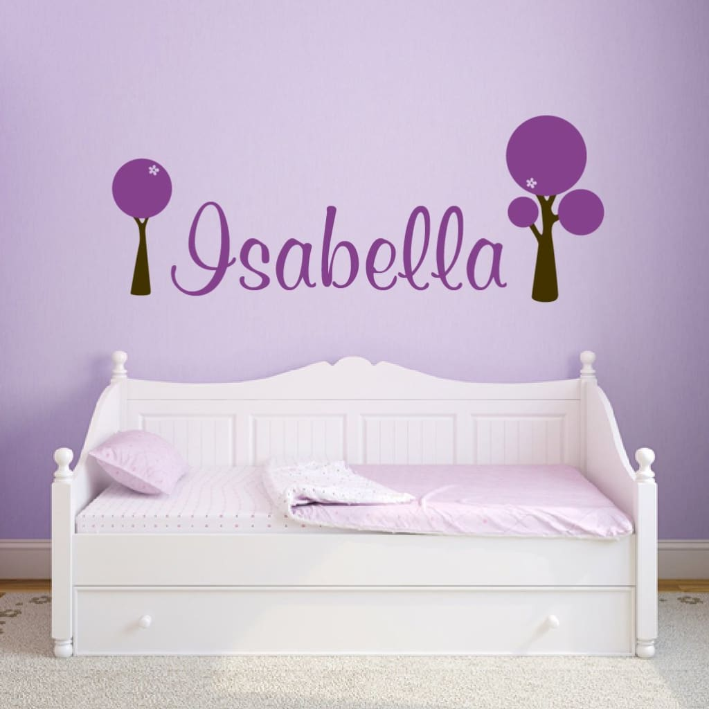 Personalized Name Wall Decals Db119