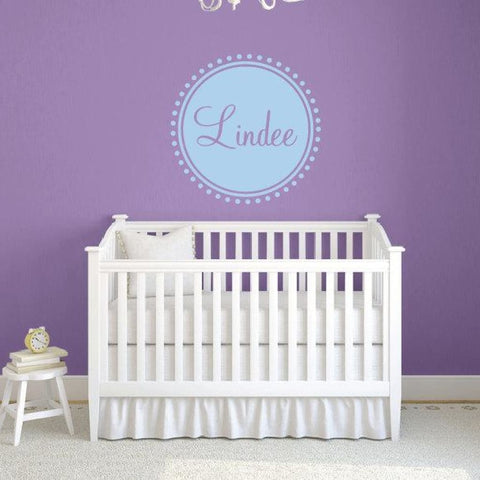 Personalized Name Wall Decals Db363