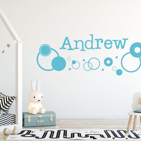 Personalized Wall Decals B141