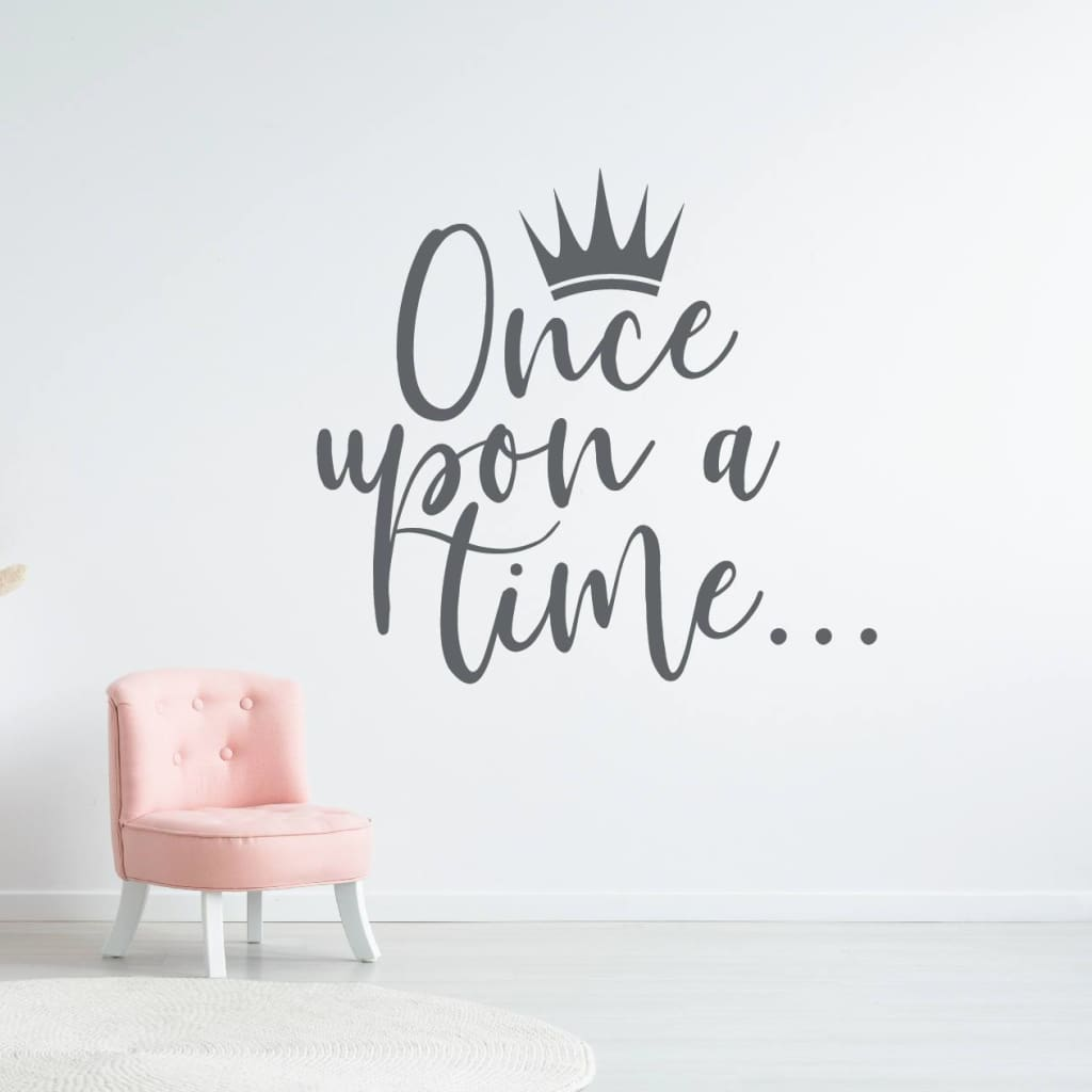 Once Upon A Time Wall Decal Princess Room Decor Rb112