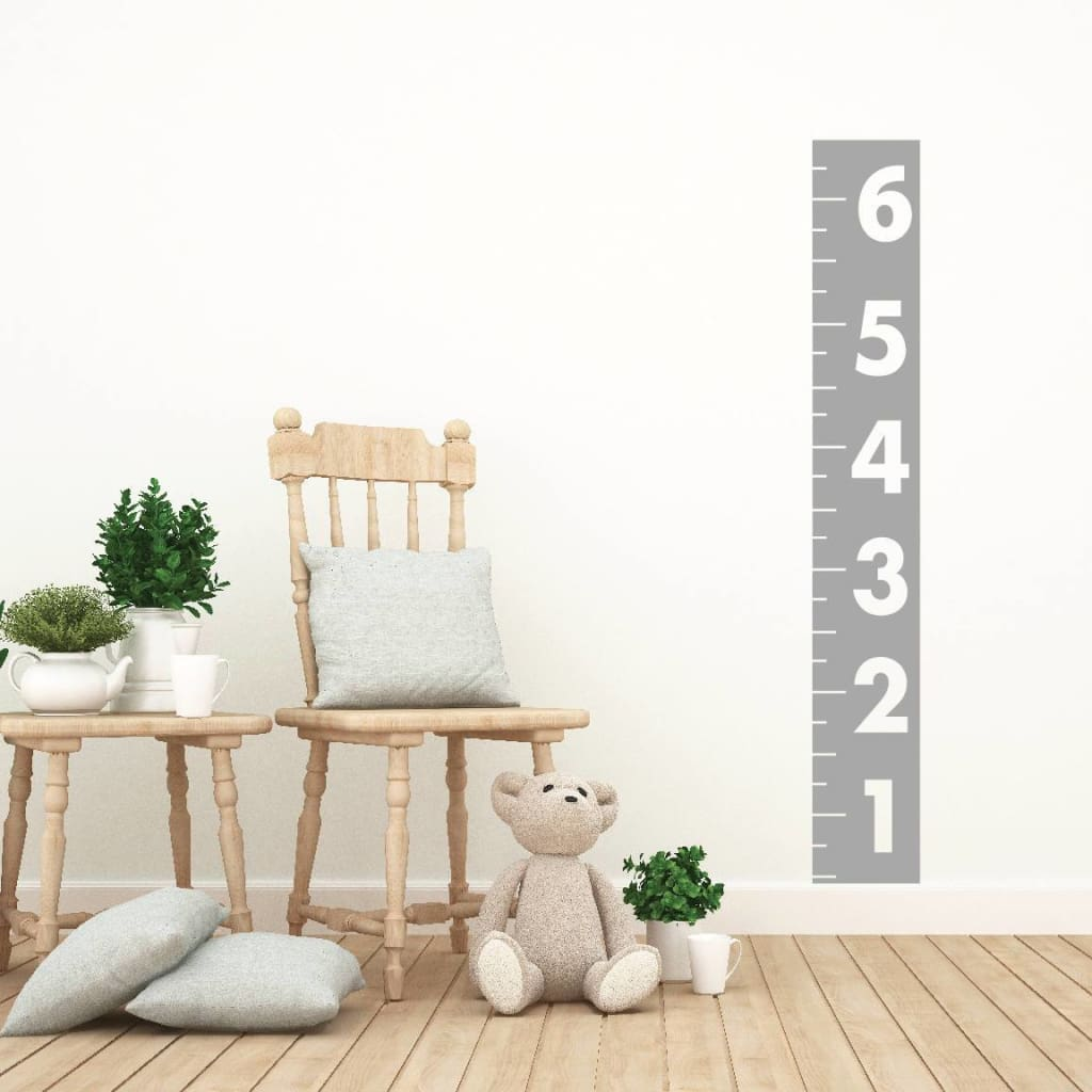 Ruler Growth Chart Wall Decal Db152