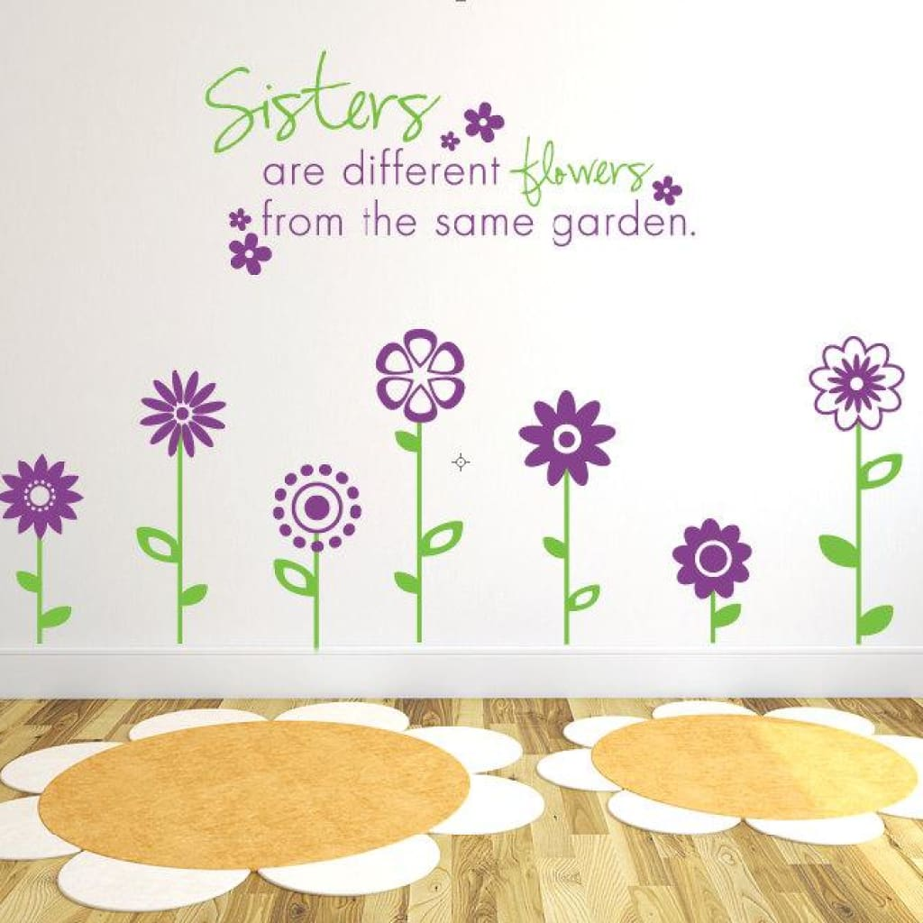 Sisters Room Wall Decor Db173