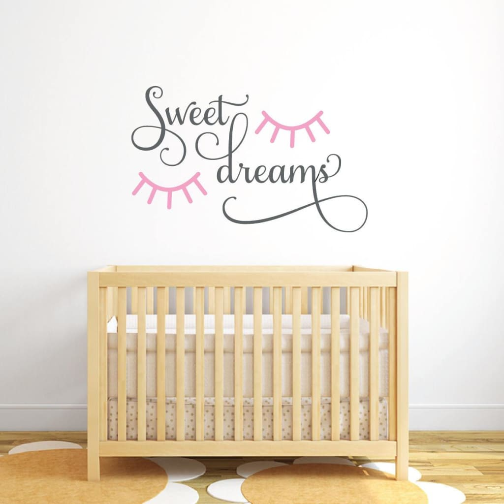 Sleepy Eyes Wall Decal Db243