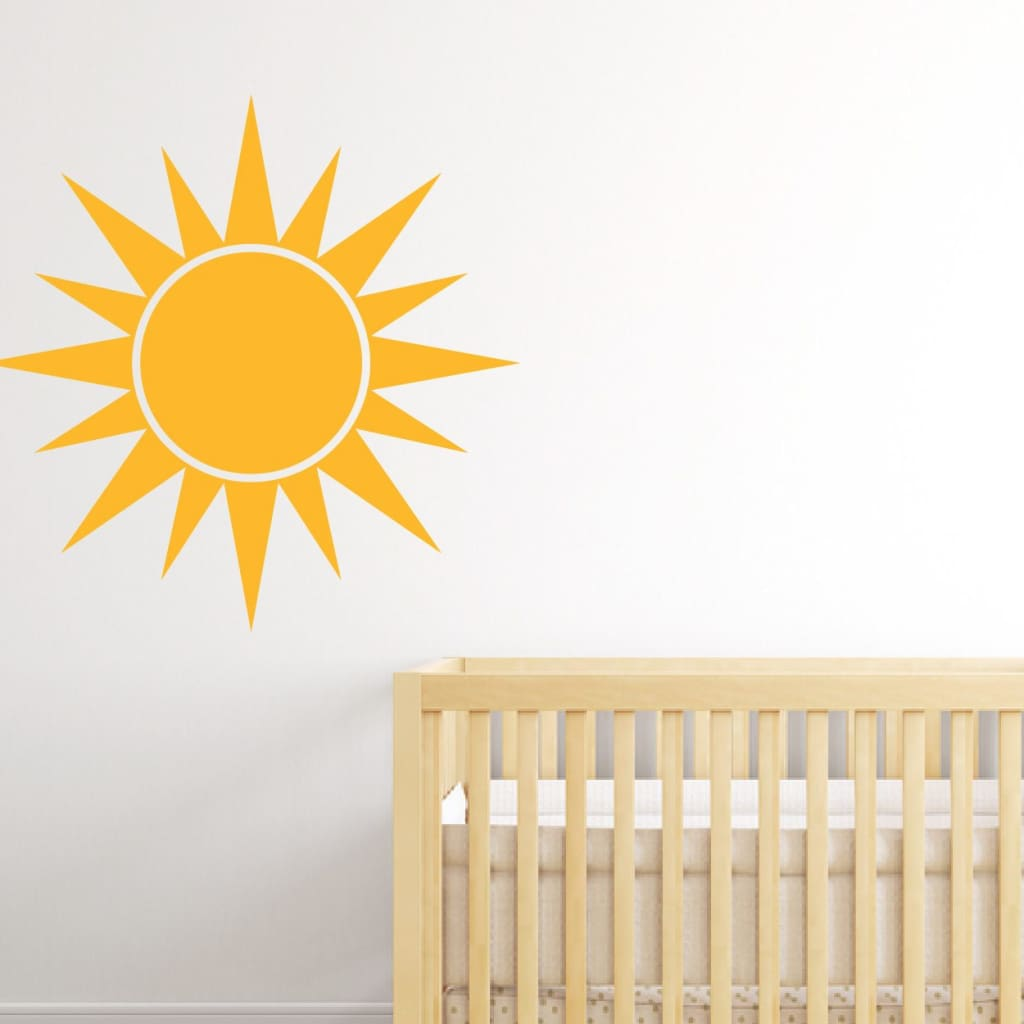 Sun Wall Decal Sunshine Wall Decal Db248