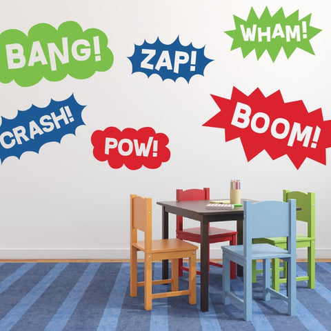 Superhero Wall Decals Db444
