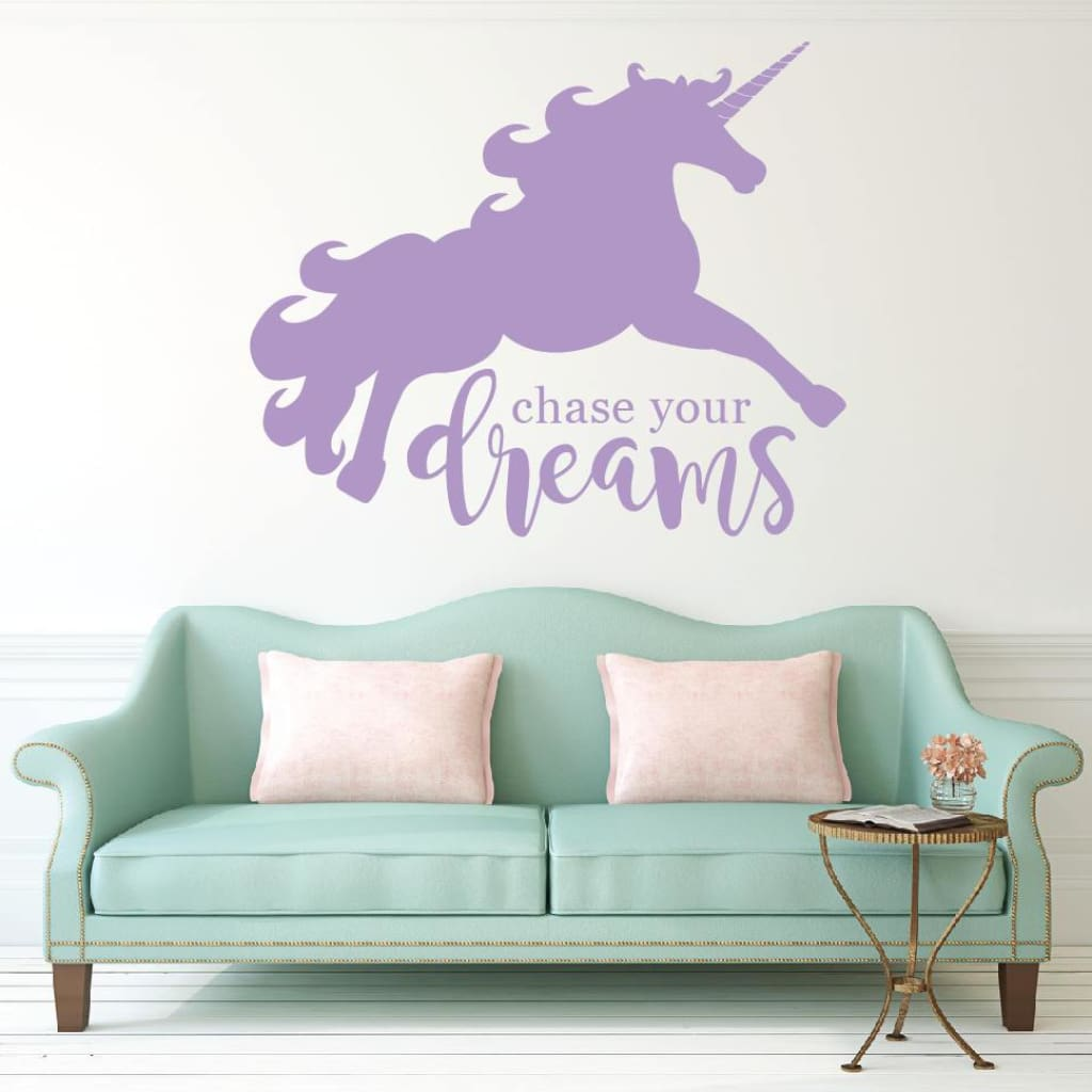 Unicorn Wall Decal Rb113
