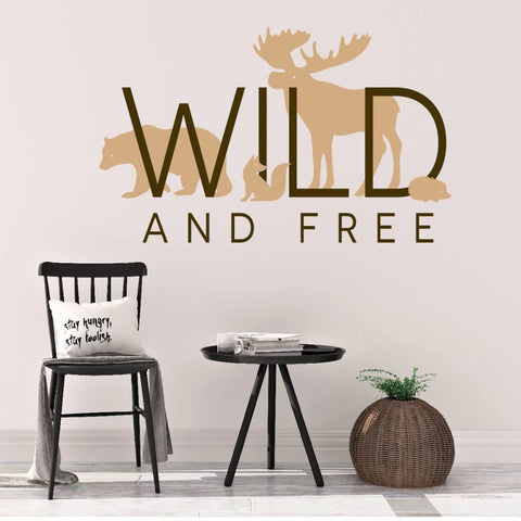 Wild And Free Wall Art Db439