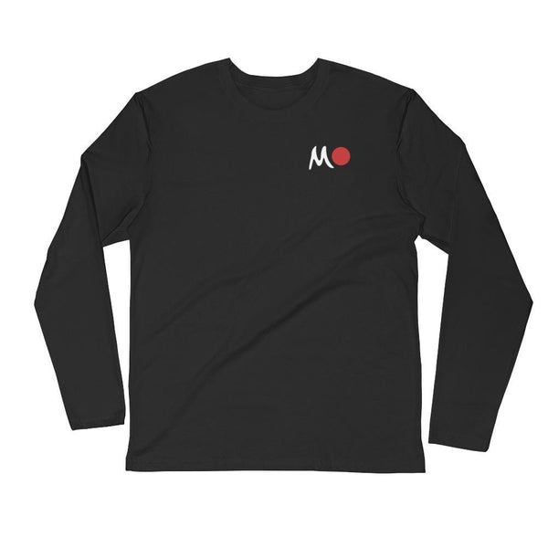 Joachim McMillan Black / S Sunny Long Sleeve Fitted Crew