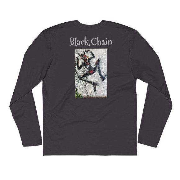 Joachim McMillan CRYPTO Long Sleeve Fitted Crew