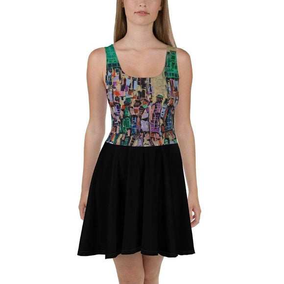 Joachim McMillan XS City skater Dress