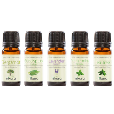 WOW Gift Set - 5 x 10ml Essential Oils