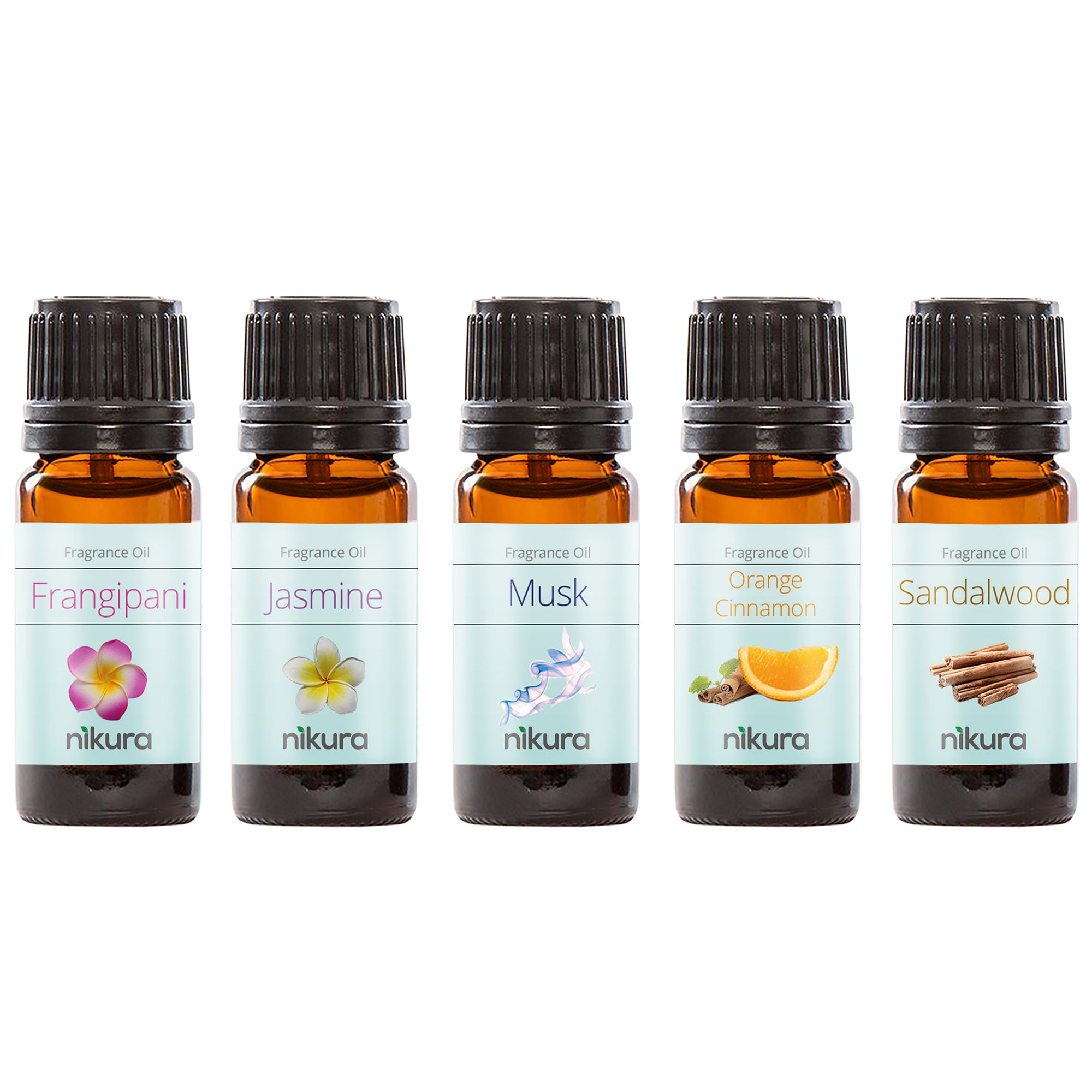 Best Sellers - Gift Set - 5 x 10ml Fragrance Oils