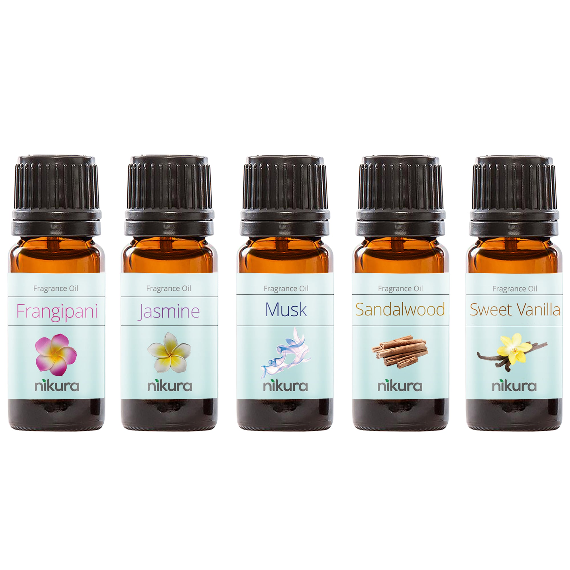 WOW Starter Gift Set - 5 x 10ml Fragrance Oils