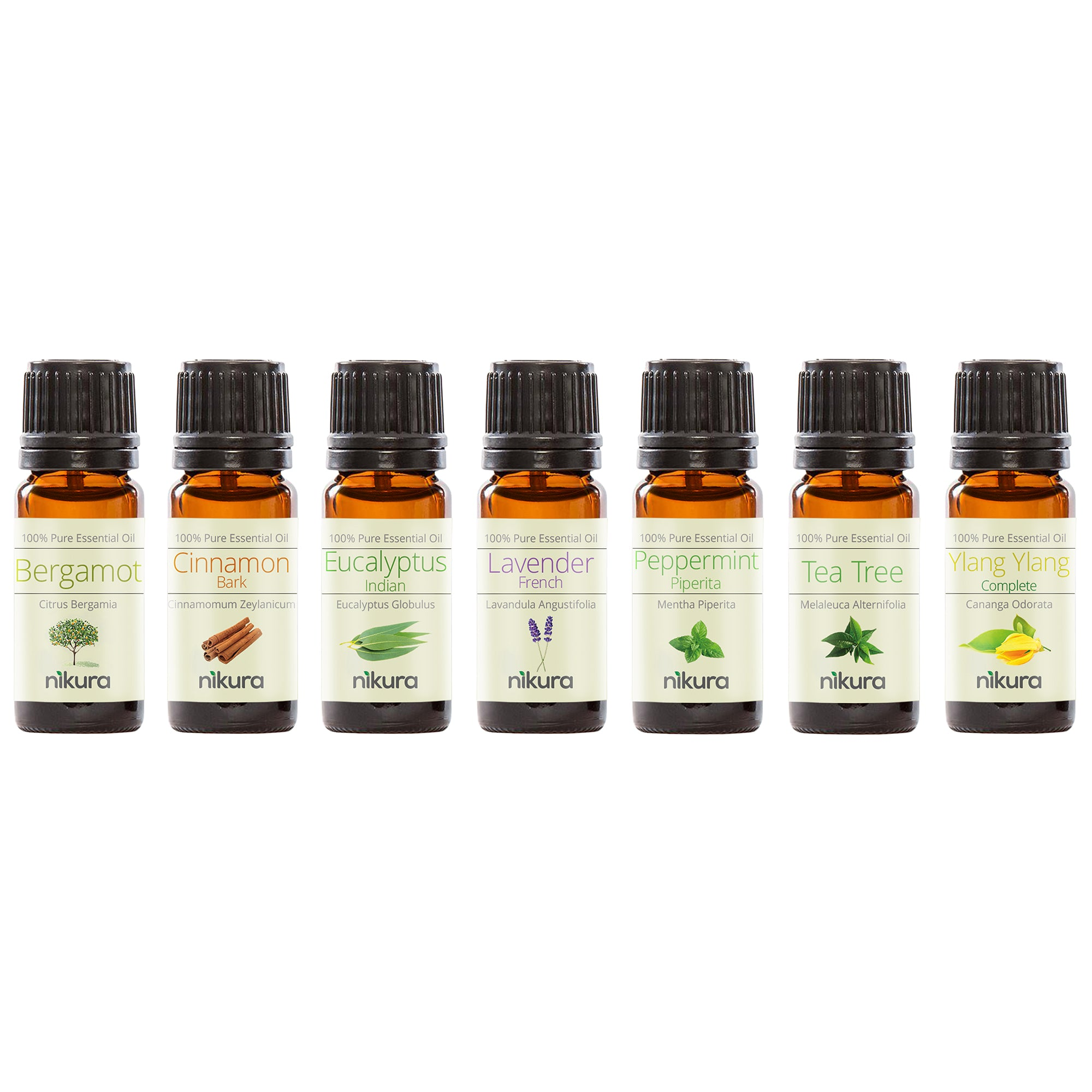 WOW Gift Set - 7 x 10ml Essential Oils