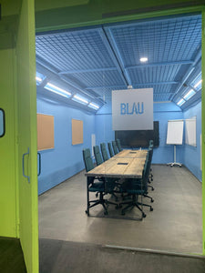 BLAU 6-12 Personen Besprechungs-Innovation-Kreativraum
