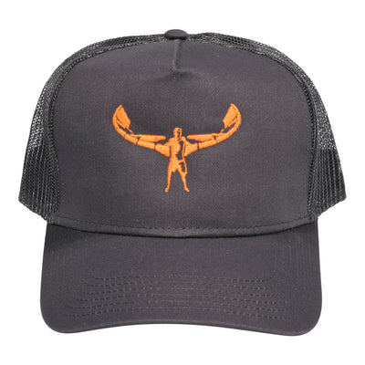 TKS TRUCKER CHARCOAL/ORANGE