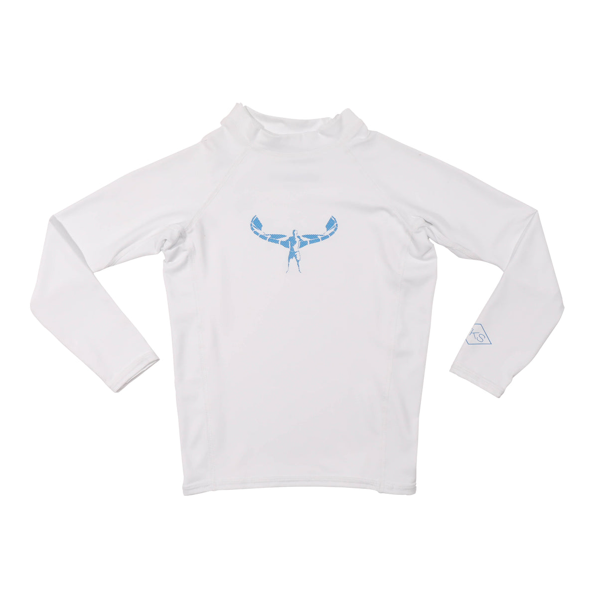 TKS MIAMI KIDS SUNSHIRT LOOSE FIT WHITE/BLUE UV 50