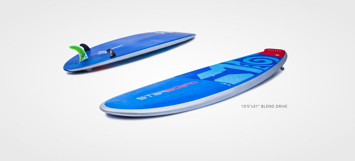 2019 Starboard Blend Stand up paddle board displayed on white background