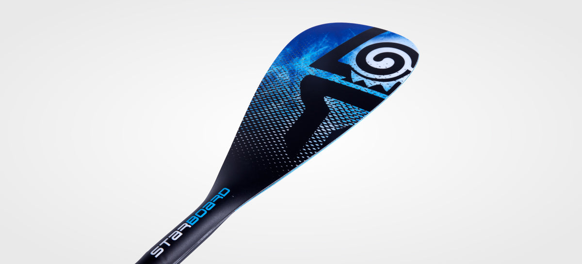 STARBOARD SUP ENDURO 2.0 TIKI TECH BLUE HYBRID CARBON 2 PIECE ADJUSTABLE
