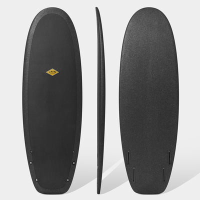 "ALMOND SURFBOARD R- SERIES 5'4"" SECRET MENU /BLACK"
