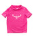 TKS KIDS SUNSHIRT LOOSEFIT SHORT SLEEVE FUSCHIA