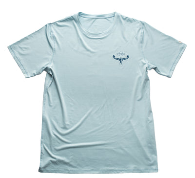 TKS Hybrid Pro Sunshirt - Light Blue SS