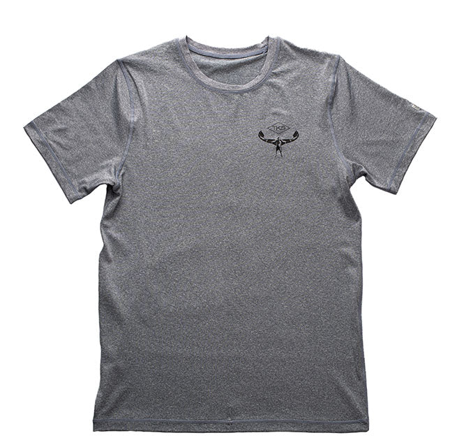 TKS Antix Sunshirt - Heather Grey SS