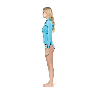 MATUSE MIRIAM LONG ARM SPRING GEO BLUE/BLACK REVERSABLE
