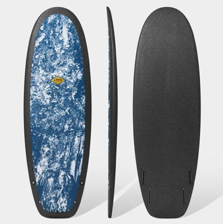 "ALMOND SURFBOARD R- SERIES 5'4"" SECRET MENU /INDIGO"