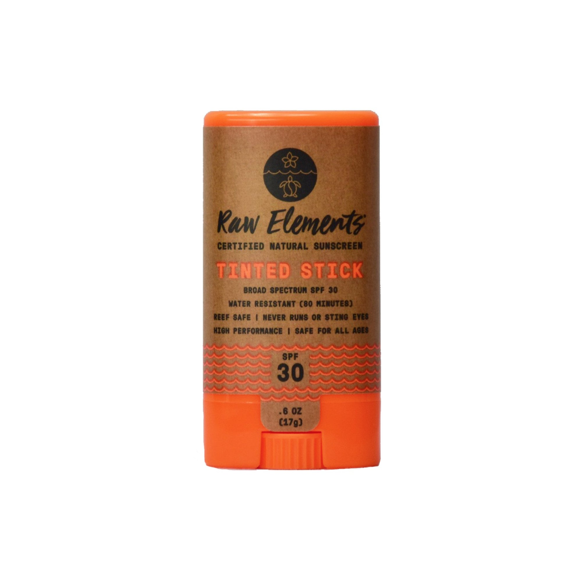 RAW ELEMENTS TINTED FACE STICK 30+
