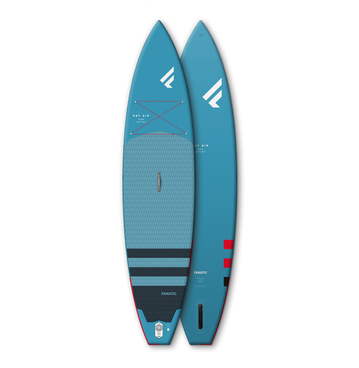 FANATIC RAY AIR INFLATABLE PADDLEBOARD 12'6 X 32""