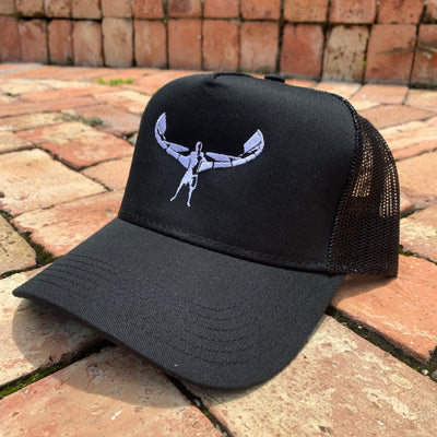 TKS TRUCKER BLACK/WHITE