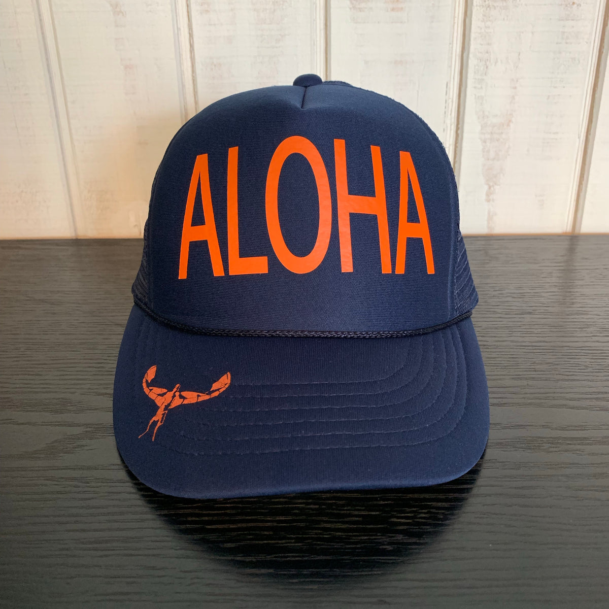 TKS KIDS FOAM ALOHA TRUCKER NAVY