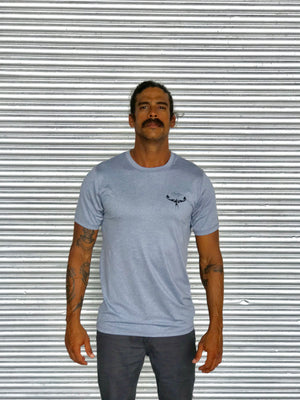 TKS ANTIX SUNSHIRT S/S HEATHER GREY