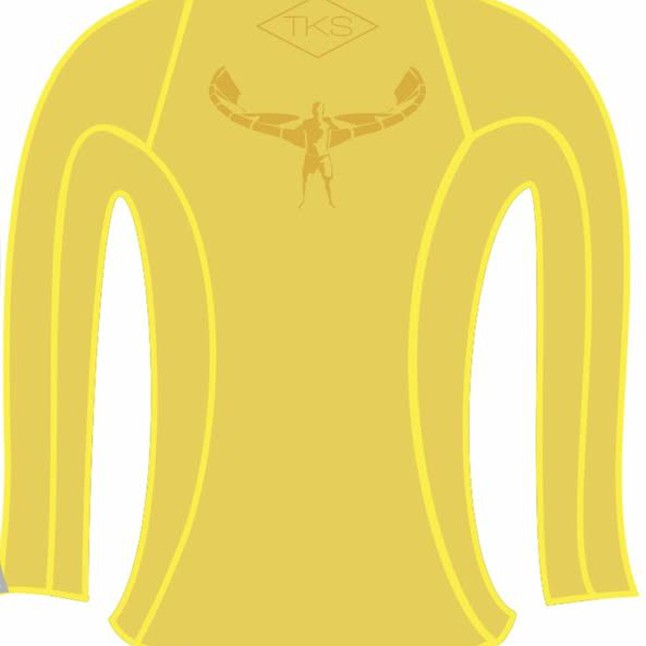 TKS WOMEN'S SUNSHIRT YELLOW UV 50