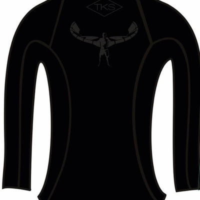 TKS WOMEN'S SUNSHIRT BLACK UV 50