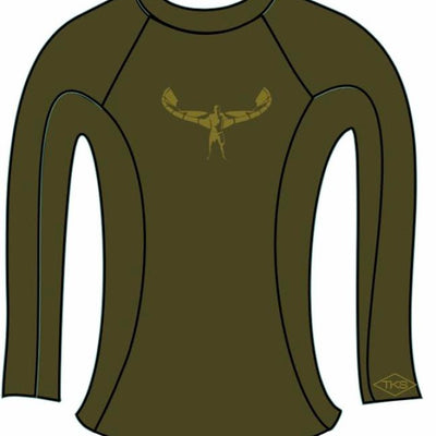 TKS WOMEN'S SUNSHIRT OLIVE UV 50