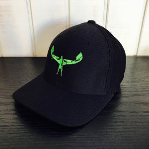 TKS COOL DRY HAT  BLACK/LIME