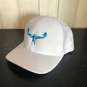 TKS COOL DRY HAT WHITE/BLUE