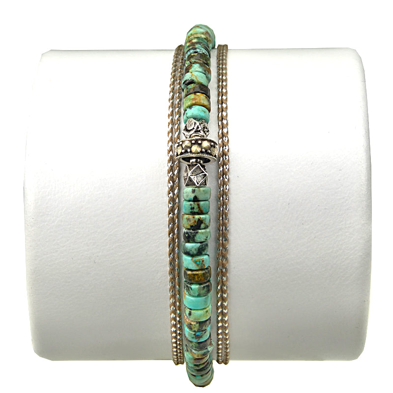 Bracelet Homme COLOMBIA Turquoise