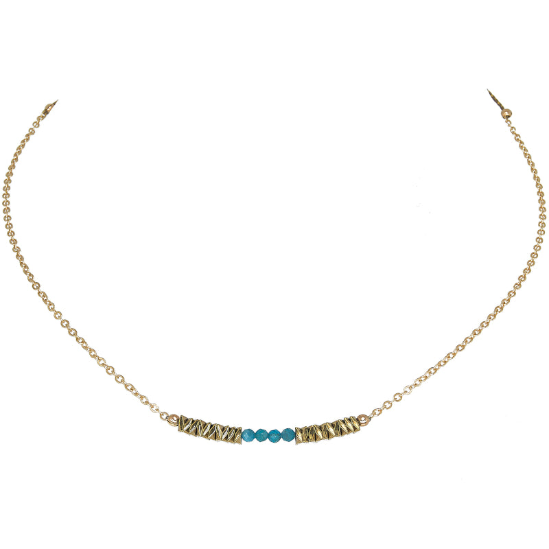 Collier Femme Lisa Apatite
