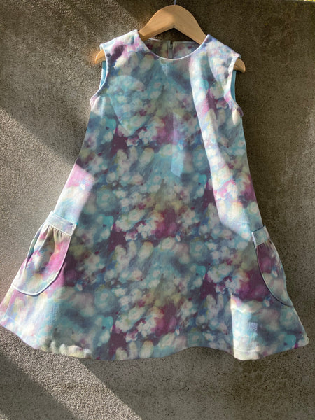 Sunday pinafore - Tie Dye