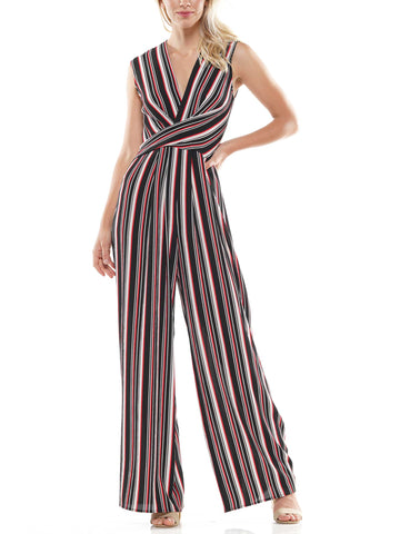 Pin striped jumpsuit