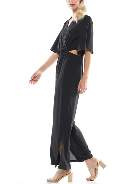Flowy V-neck jumpsuit