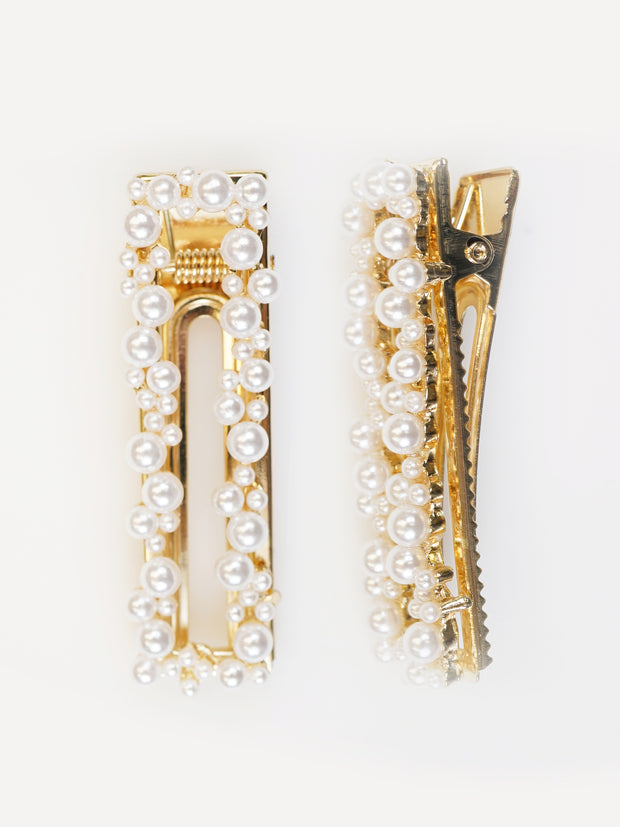 KASSIE PEARL HAIR CLIP | Why Dress